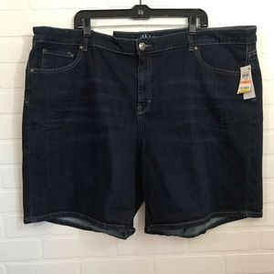NWT Style & Co Woman's Mid Rise Denim Short 24W